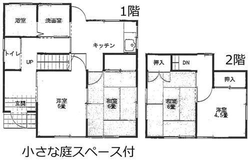 ■物件番号P4786 海10分!海近い昭和レトロな貸家入荷!4Kタイプ!65平米!庭スペース有り!