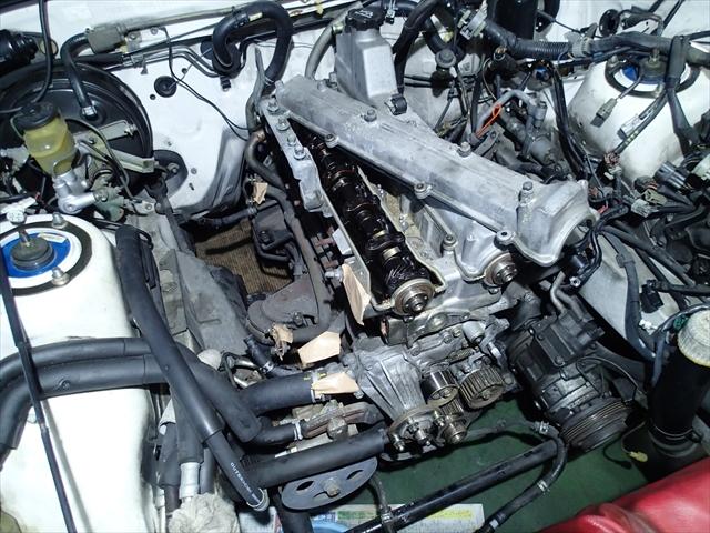 トヨタ ソアラ白煙修理