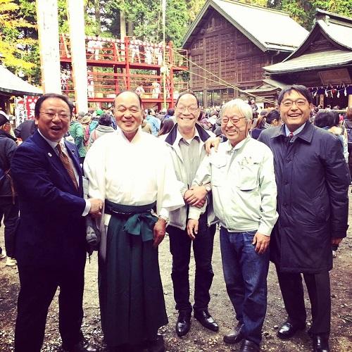 上河内お羽黒山<梵天祭>へ!