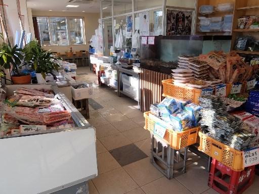 海産物の販売