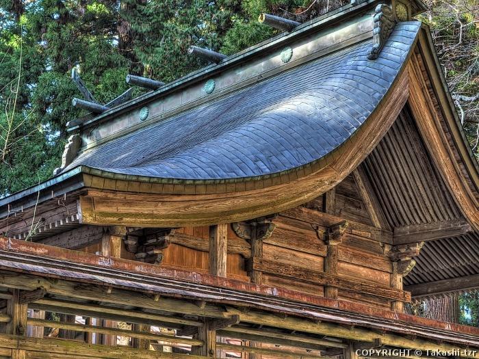 都々古別神社本殿