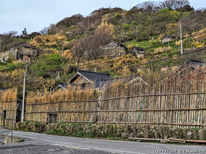 大沢・上大沢の間垣集落景観1