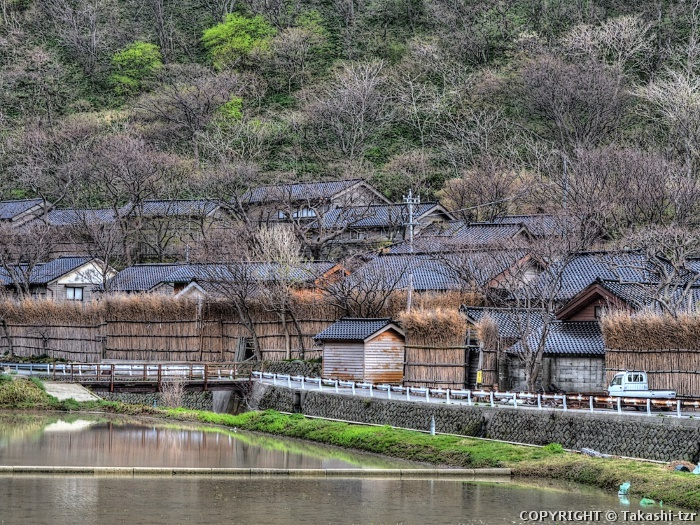 大沢・上大沢の間垣集落景観2