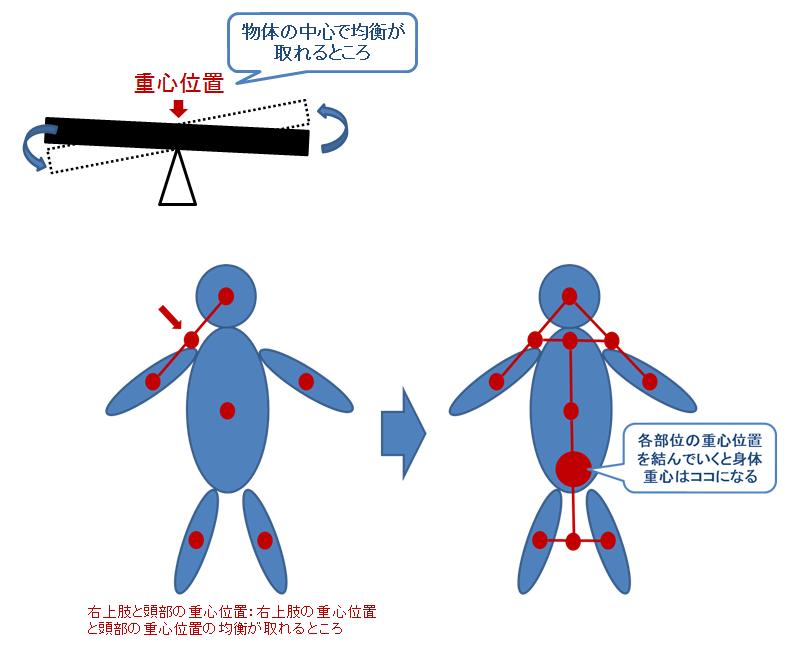 体表からわかるランドマークを用いた重心位置と姿勢の評価 力学的負荷の評価法と治療への応用方法 重心とは