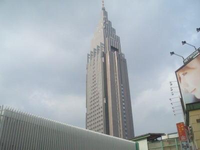 大きな分かりやすい建物