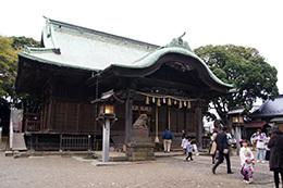161123二宮神社銀杏⑥