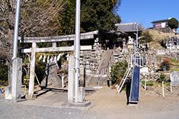 170128小川町白山神社大樫⑫