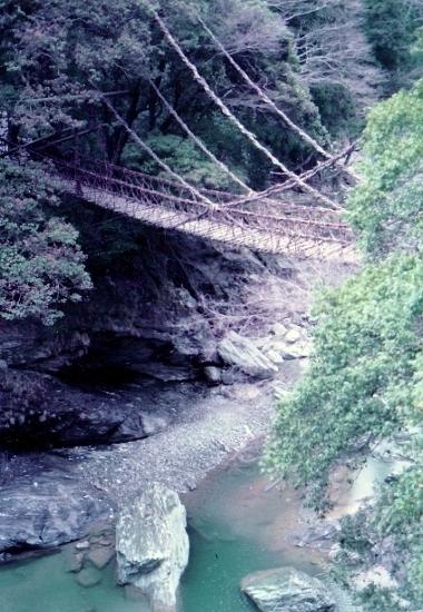 ⑦かずら橋