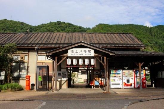 ⑩郡上八幡駅 (550x366)