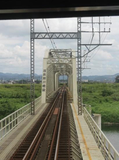 ④渡良瀬川鉄橋