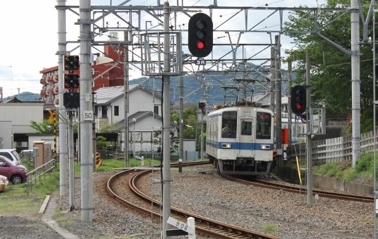 ⑥佐野駅入線