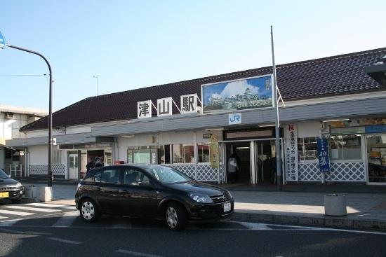 ⑱津山駅舎