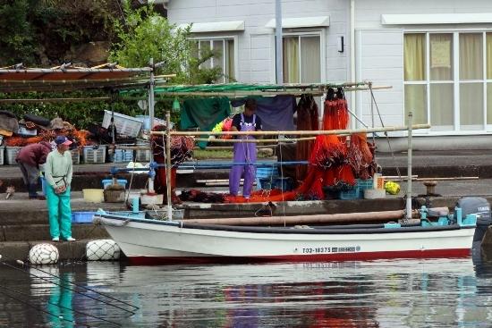 ⑦漁師たち