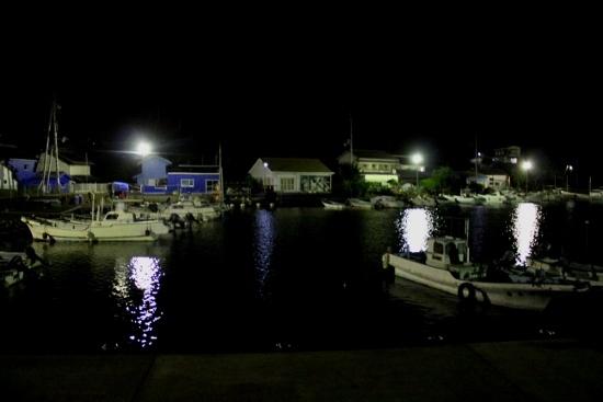 ⑧出羽島の夜