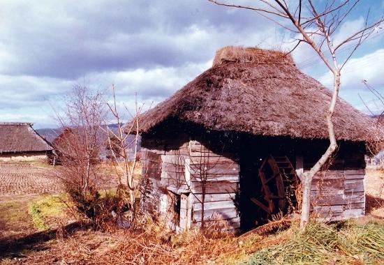 ⑨山口部落水車小屋