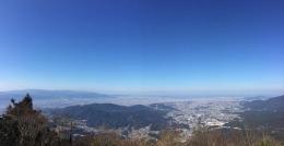 170201_03山頂から博多の街