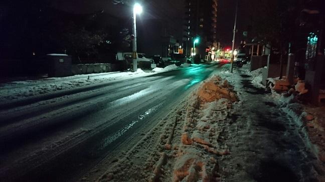 20161107 帰り道