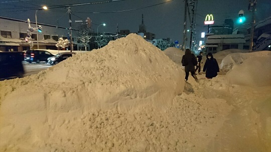 20161225 豪雪①