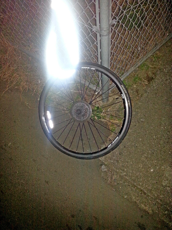 盗難自転車(後輪)
