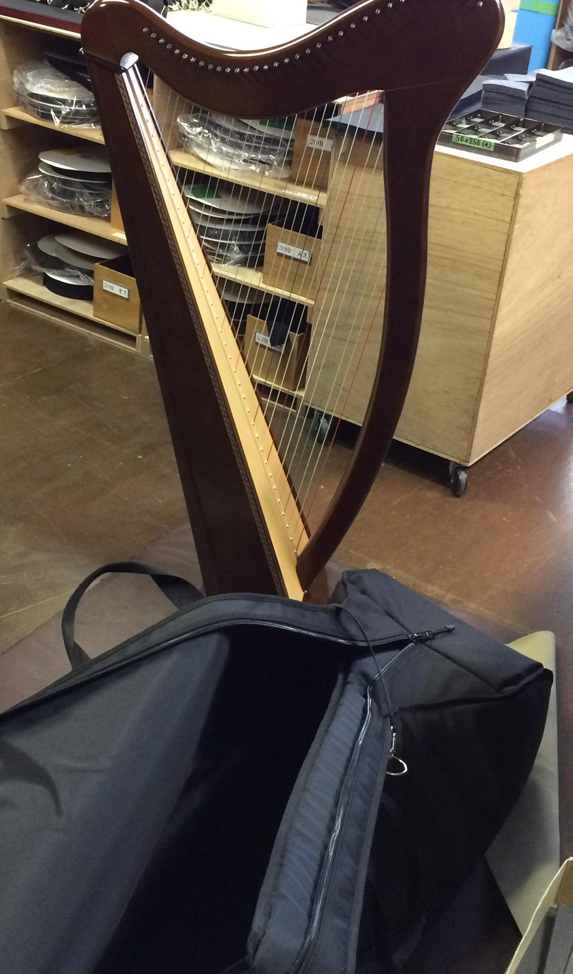 タカベケース製 竪琴用ケース