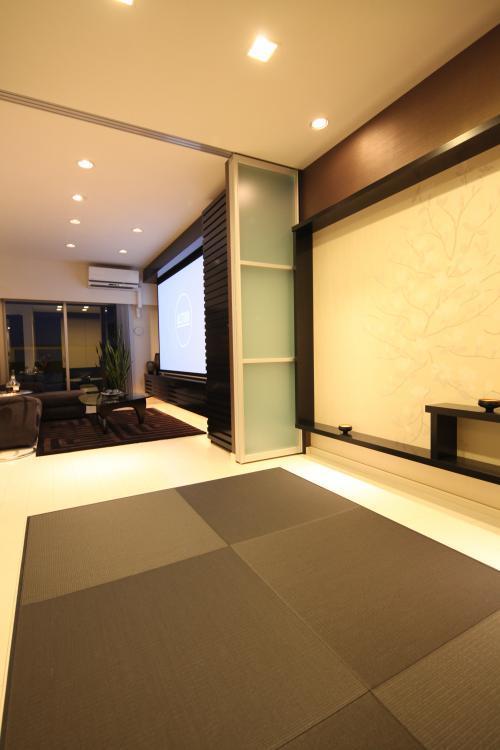 畳コーナー ホームシアター