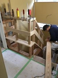022階段室造作中