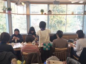 201611 komae ニットカフェ