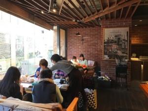 201701 Thecafe ニットカフェ