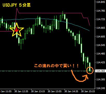 ドル円買い