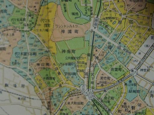 20170106・原宿地図02-3・昭和29年6月