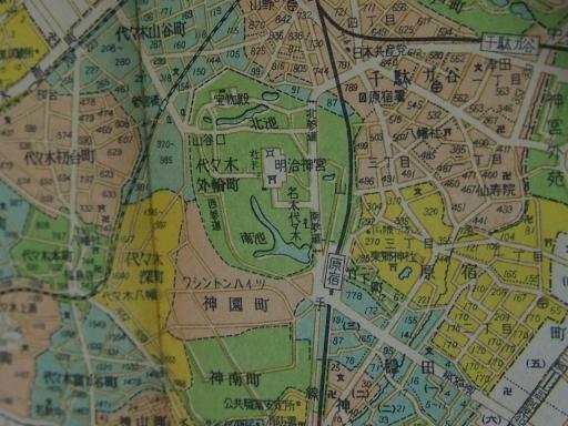 20170106・原宿地図02-2・昭和29年6月