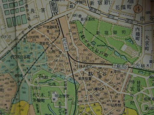 20170106・原宿地図02-1・昭和29年6月