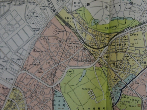 20170106・原宿地図04-1・昭和40年