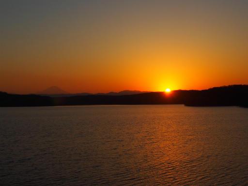 20170204・狭山湖なのだ2-23・夕日が沈む様子は明日