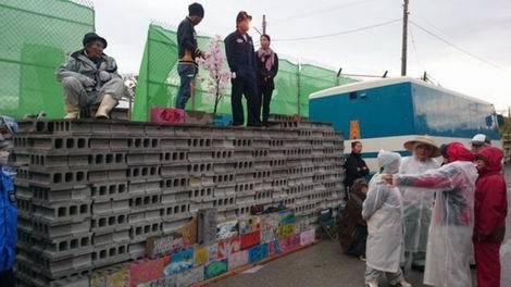 20161129_キャンプ・シュワブ旧ゲート前Block(470x264)