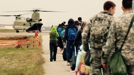 20170107_在韓米軍 沖縄へ家族脱出の避難訓練(470x264)