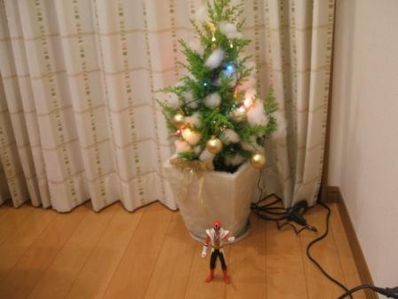 1 クリスマスツリー2009