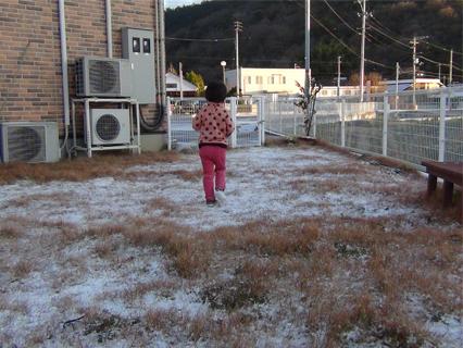 高松で初雪-1