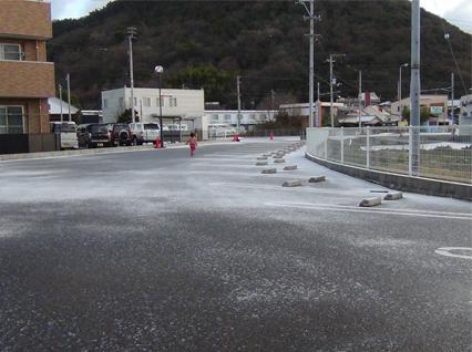 高松で初雪-2