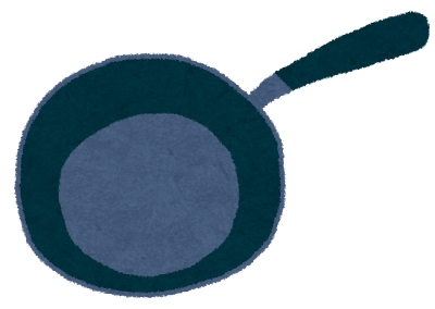 フライパン、料理、調理