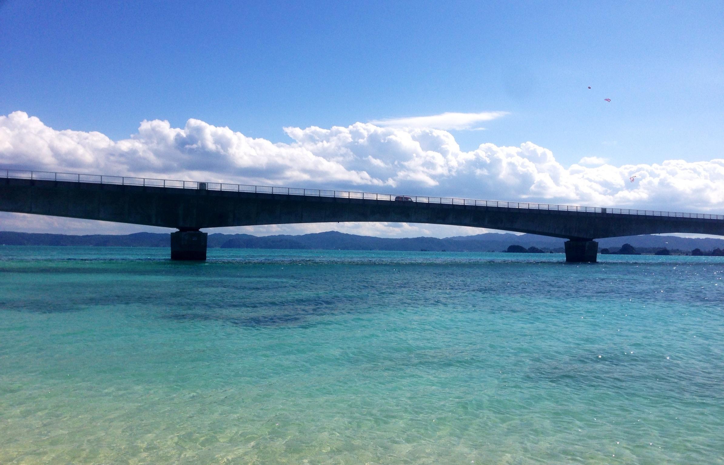 沖縄修学旅行 こうり島
