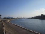 小瀬川河口近く201711