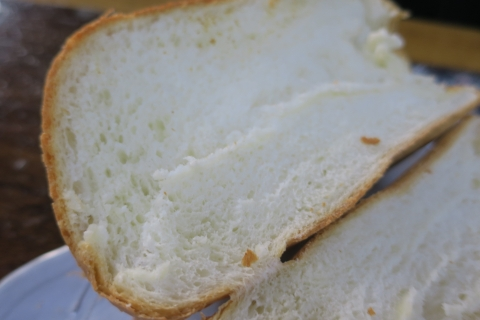 「妻がパンを焼いてくれました!」③