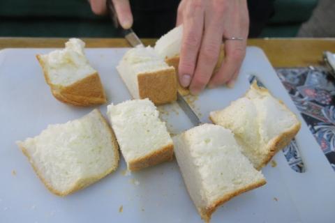 「妻がパンを焼いてくれました!」④