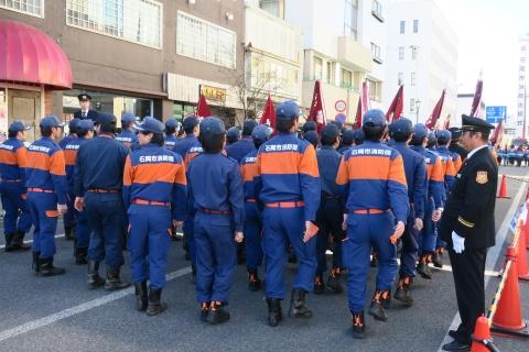 「平成29年石岡市消防出初式」⑩