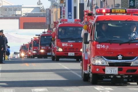 「平成29年石岡市消防出初式」⑪