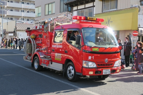 「平成29年石岡市消防出初式」⑮