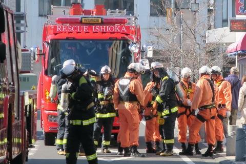 「平成29年石岡市消防出初式」㉕