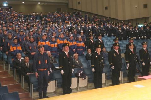 「平成29年石岡市消防出初式」㊴