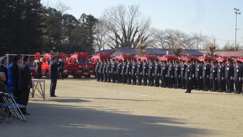「平成29年石岡市消防出初式」㊵